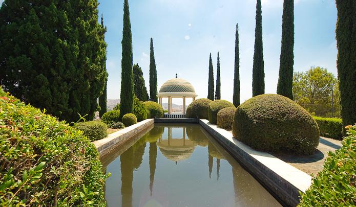 Ботанический сад в Малаге. Испания.