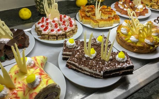 Торты, пирожные и печенье