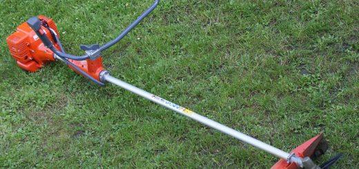 Использование триммеров и другой садовой техники.
