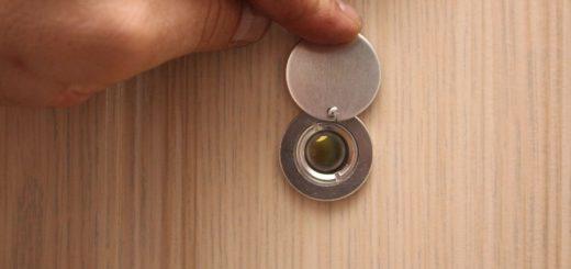 Дверные глазки - а кто это там, за дверью?