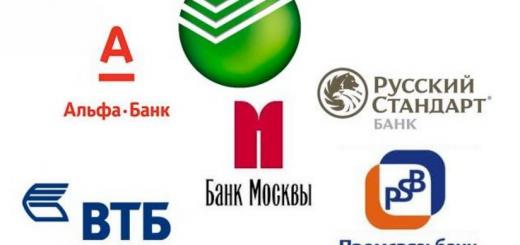 Какая из банковских услуг является самомй популярной?