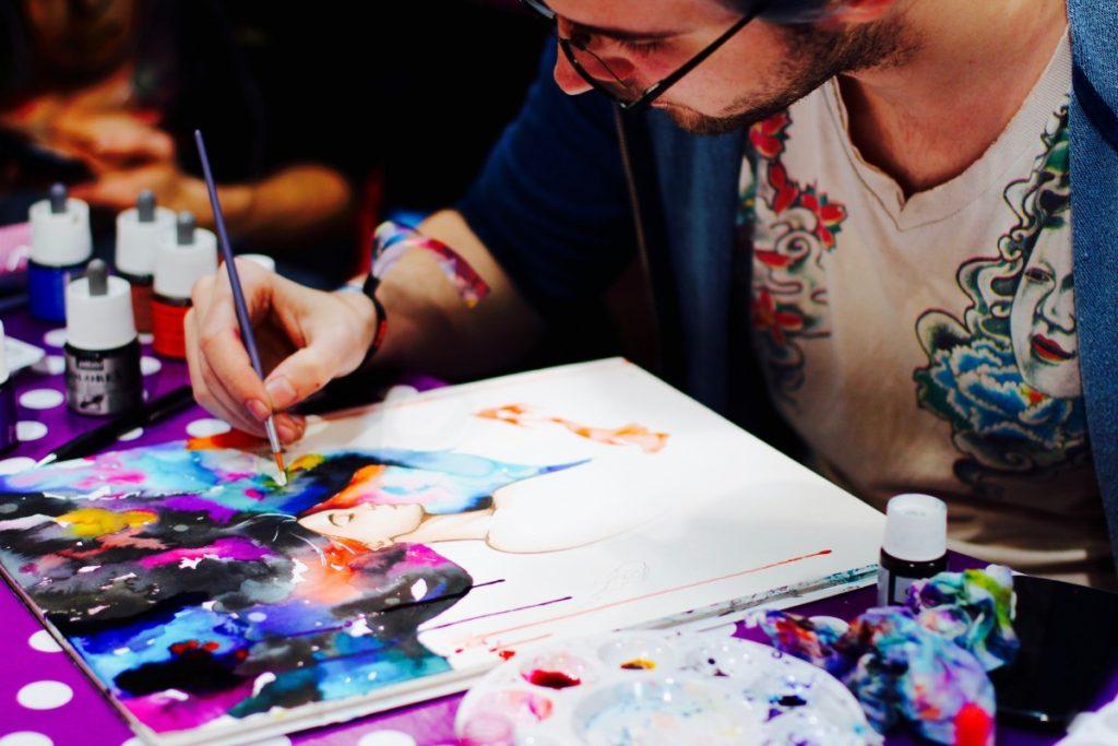 Рисование картин по номерам